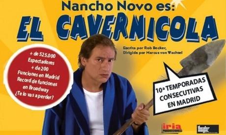 Entrada a 'El Cavernícola' del 1 al 23 de enero por 17,50 € en el Teatro Infanta Isabel