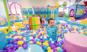 Kid Fundazzle: Entrée pour deux ou quatre personnes au parc d'amusement intérieur Kid Fundazzle (jusqu'à 62 % de rabais)