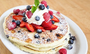 Stacks' Breakfast And Lunch Redwood City: Comfort Food Favorites for Two or Four at Stacks' Breakfast and Lunch Redwood City (35% Off)