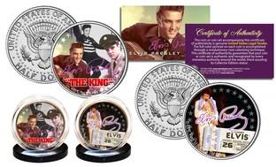 Elvis Presley Kennedy Half Dollar Two-Coin Set