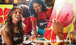 The Original Paint & Sip (Up to 28% Off)    at The Original Paint Nite, plus Up to 6.0% Cash Back from Ebates.