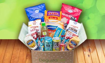Lote Degustabox con productos de alimentación de primeras marcas por 3,99 € (67% de descuento)