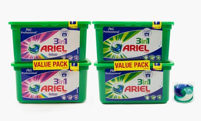 Ariel Professional Detergent Pods Groupon