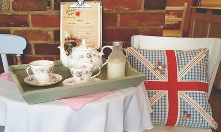Traditional or Prosecco Afternoon Tea for Two or Four at The Strawberry Teapot Tearoom and Cakery (Up to 52% Off)