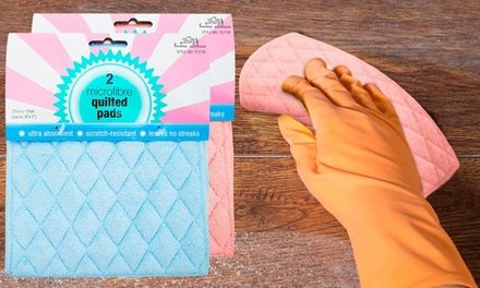 Diamond Quilted Microfibre Cleaning Pads