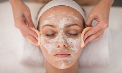 image for One-Hour Facial Package with Massage at Anahata Well-being Studio (50% Off)