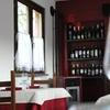 Cena romantica e bottiglia di vino