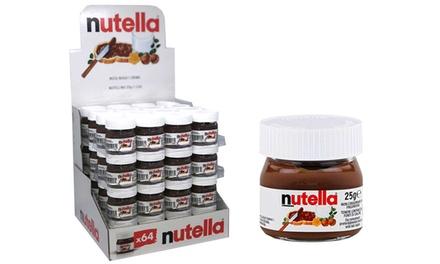 Tot 15% op Doos met 24 mini Nutella's | Groupon Producten