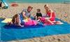 Toalla de playa a prueba de arena y tierra
