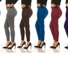 Coco Limon Solid-Colored Leggings (8-Pack)