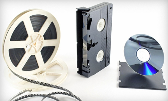 Hourglass Media - North End: 8mm, Super-8 Film, or Video Transfer to DVD at Hourglass Media (Up to 47% Off)