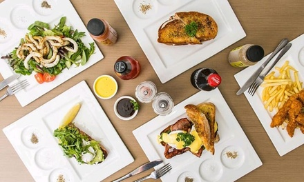Lunch with Drink for One ($13), Two ($26) or Four People ($52) at Addiction Food and Coffee House (Up to $110 Value)