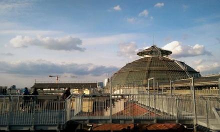 Alba sui tetti di Milano