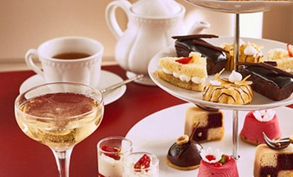 Chocolate Afternoon Tea with Champagne for One or Two at R Chocolate London (Up to 57% Off)