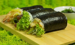 SushiRoll: 2 rolki sushi za 19,99 zł i więcej opcji w SushiRoll (do -38%)