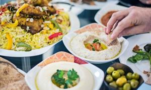 Souks Mediterranean Street Food: Mediterranean Feast for Two ($49) or Four People ($95) at Souks Mediterranean Street Food (Up to $240 Value)