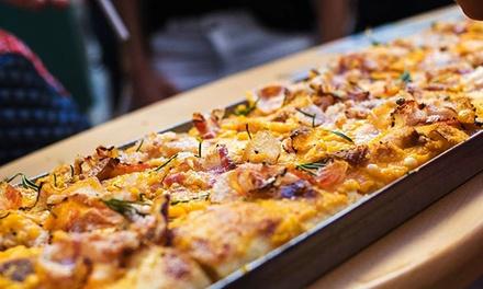 6 o 12 porciones de pizza al corte a elegir con 2 o 4 bebidas desde 9,95 € en Buoni Forno di Pizze