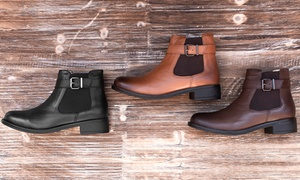 Boots en cuir Redfoot