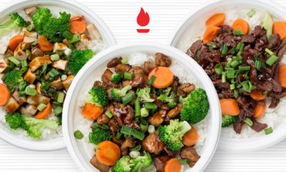 image for 20% Cash Back at Flame Broiler