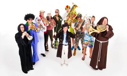 """Brassband-Konzert """"Blechschaden"""" mit Bob Ross am Samstag, den 11. November 2017 um 20 Uhr in Mannheim (50% sparen)"""
