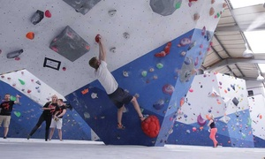 Climbing Project: One-Hour Climbing Class for One or Two with Three Adult Passes or for Up to Six or at Climbing Project (Up to 61% Off)