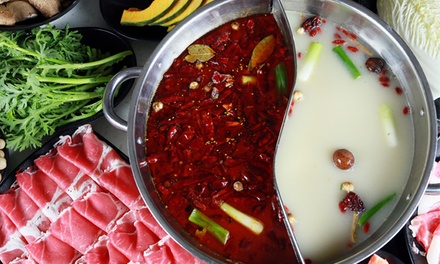 52% off Hot-Pot Cuisine for Two or Four at Little Sheep Mongolian Hot Pot