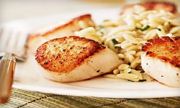 Blue Dolphin Restaurant - Griffin Park: $15 for $30 Worth of Fresh Seafood, Organic Steaks, and Pastas at Blue Dolphin Restaurant in Hudson