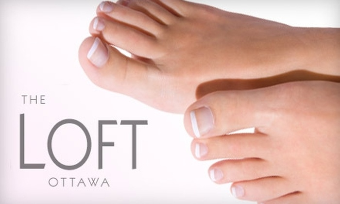 The Loft - Centretown - Downtown: $30 for a Pedicure at The Loft ($60 Value) Ottawa