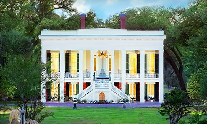 Bocage Plantation - Darrow: $20 for Two Admissions to Bocage Plantation Tour in Darrow ($40 Value)