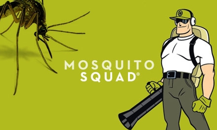 Mosquito Squad - Hampton Roads: $39 for Up to One Acre of Barrier Mosquito Spray from Mosquito Squad ($135 Value)