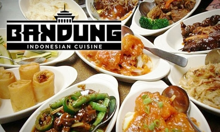 Bandung Indonesian Restauarant - Marquette: $12 for $25 Worth of Indonesian Cuisine and Drinks at Bandung Restaurant