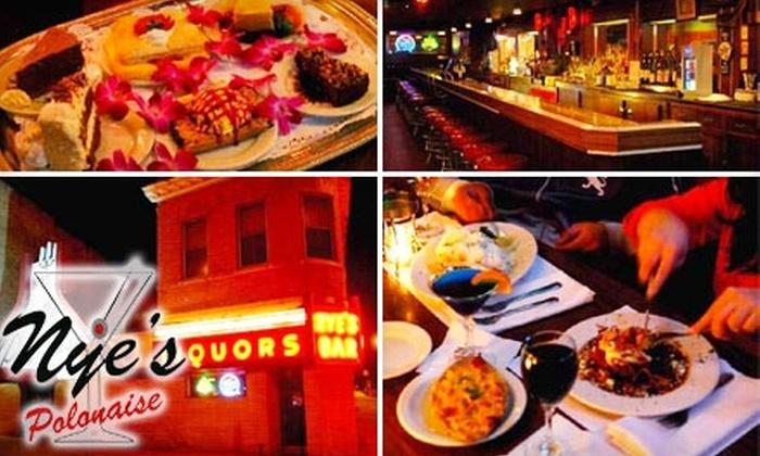 Nye's Polonaise Room - Nicollet Island: $25 for $50 Worth of Upscale Fare and Drinks at Nye's Polonaise Room