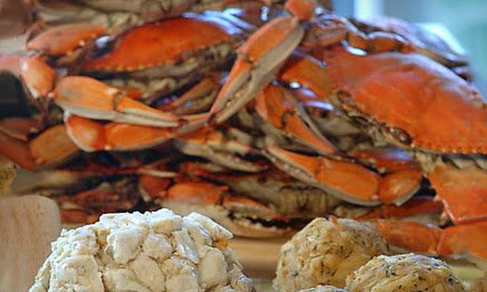 The Crab Place: $30 for $60 Worth of Fresh, Local Seafood from The Crab Place
