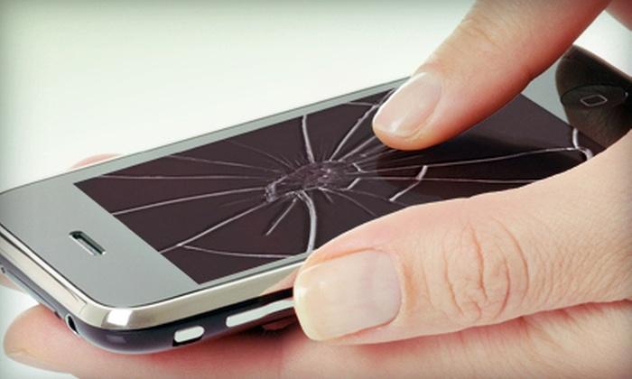 Silk Road Telecom - Memphis: iPhone Screen Repair or $20 for $40 Worth of Mobile-Phone Accessories at Silk Road Telecom