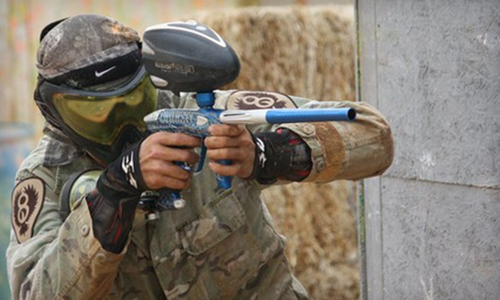 Fightertown Paintball Park - Wickenburg: $25 for Paintball Outing at Fightertown Paintball Park in Surprise ($51.70 Value)