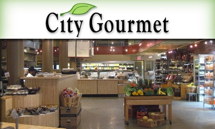 City Gourmet - Downtown St. Louis: $5 for $10 Worth of Fresh Deli Fare and Drinks at City Gourmet