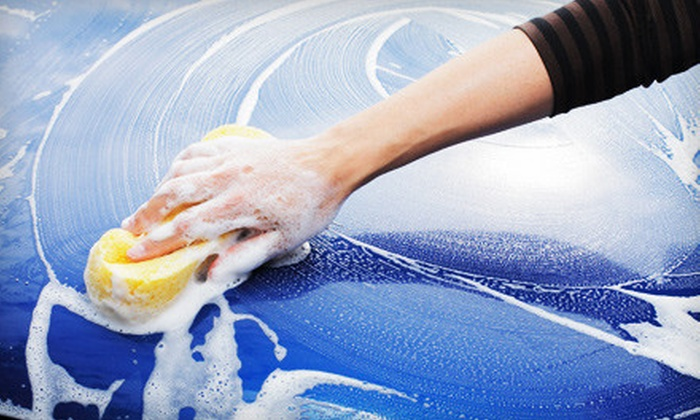Great American Car Wash - McLane: Orbital Wax and 30 Days of Unlimited Car Washes or Three Freedom Washes at Great American Car Wash (Up to 78% Off)