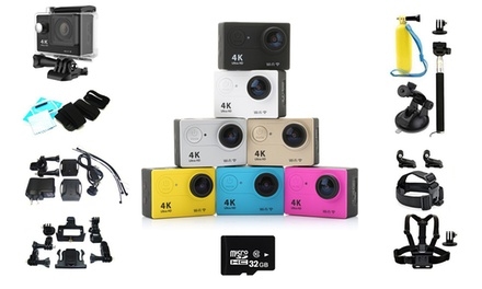 Wi-Fi Action Kamera 4K Ultra-HD  (Sie sparen: 86%)