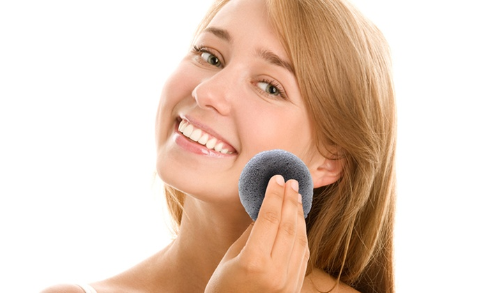 Konjac Bamboo Cleansing and Exfoliating Face Sponge: Konjac Bamboo Cleansing and Exfoliating Face Sponge