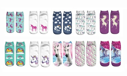 Unicorn Design Socks