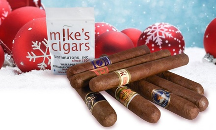 Mike's Cigars Holiday Cigars and Accessories Bundle (9-, 11-, 12-, or 13-Piece)