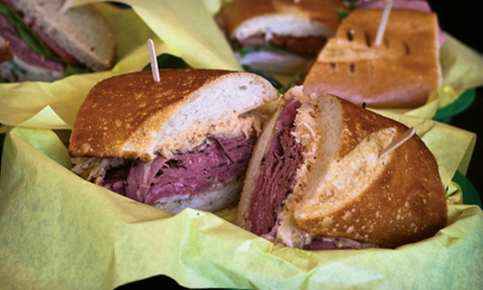 Callahan's Catering - Germantown: Carryout Box Lunches and Party Fare at Callahan's Catering. Two Options Available.