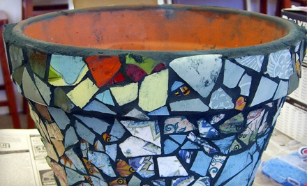 Bravo School of Art: 2-Part Mosaic Workshop or Mosaic: Glass on Glass Workshop - Bravo School of Art in San Diego