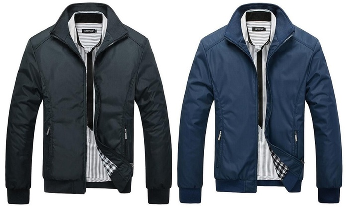 Men's Harrington Jacket in Choice of Size and Colour for £19.99