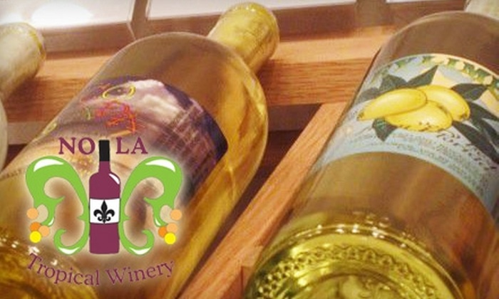 NOLA Tropical Winery - Central Business District: $12 for $25 Worth of Wine and Accessories at NOLA Tropical Winery