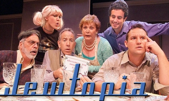 """""""Jewtopia"""" - Melrose: Ticket to Off-Broadway Comedy """"Jewtopia."""" Choose from Three Options."""