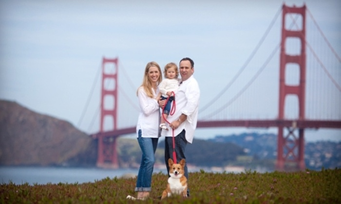 Visalli Photographics - Sausalito: $95 for Consultation, Portrait Session, Prints, and Photo CD from Visalli Photographics in Sausalito (Up to $615 Value)
