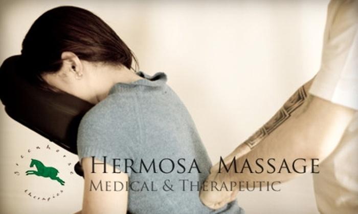 Hermosa Massage - Nob Hill: $10 for a 20-Minute Chair Massage at Hermosa Massage