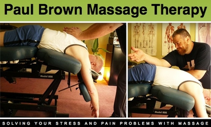 Paul Brown Massage Therapy - Downtown: $40 for a 60-Minute Tune-up Massage at Paul Brown Massage Therapy ($80 Value)