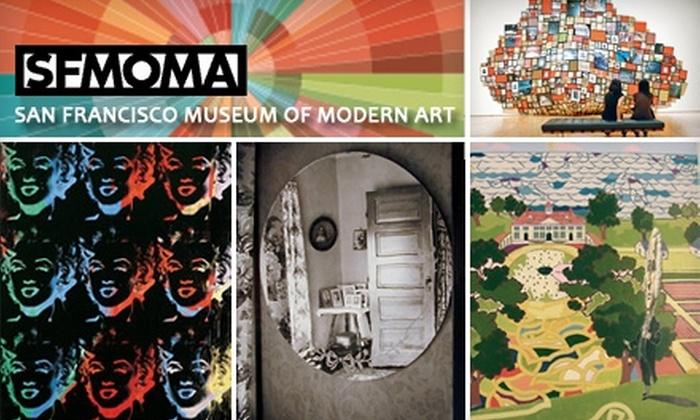 San Francisco Museum of Modern Art - SoMa: $9 Adult General Admission to the San Francisco Museum of Modern Art ($18 value)